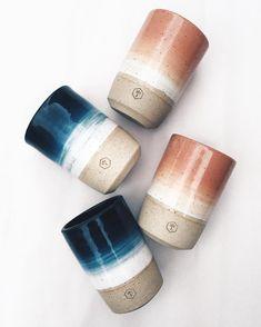 Gradient tall mugs by willowvane
