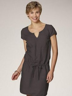 hessnatur Leinentunika im Online Shop von Ackermann Versand Shops, Short Sleeve Dresses, Dresses With Sleeves, Fashion, Moda, Tents, Sleeve Dresses, Fashion Styles, Gowns With Sleeves