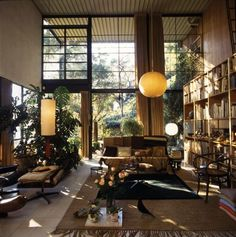 Eames house - my favorite style.  If I could completely redo everything I own it would look just like this.