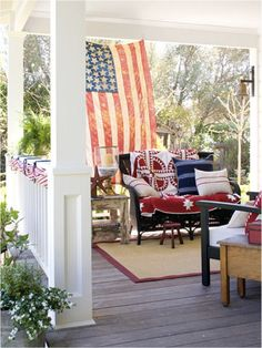 Love this Porch Decor