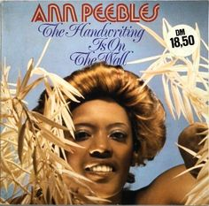 Peebles, Ann - The Handwriting Is On The Wall GER 1978 Lp mint