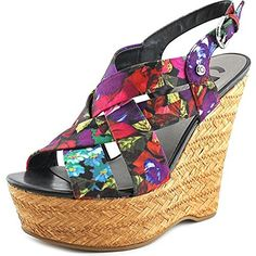G By Guess Havana 2 Stoff Keilabsätze Sandale - http://on-line-kaufen.de/guess/g-by-guess-havana-2-stoff-keilabsaetze-sandale