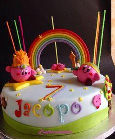 Kirby cake