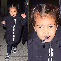 Kardashian Style, Kardashian Jenner, Beautiful Children, Beautiful Babies, North West Kardashian, Fashion Games, Kids Fashion, Kim And North, Jenner Kids