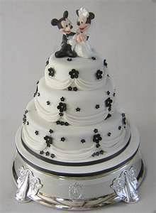 *MICKEY & MINNIE WEDDING CAKE