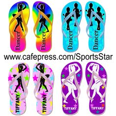 Pretty personalized Dancer flips flops and Dancing Tees and Gifts from http://www.cafepress.com/sportsstar/10423569 #Dancer #Dancing #Dancergifts #Dancingqueen #Ilovedancing #moderndance #Ballerina #Ballet #Danceflipflops #Dancerflipflops