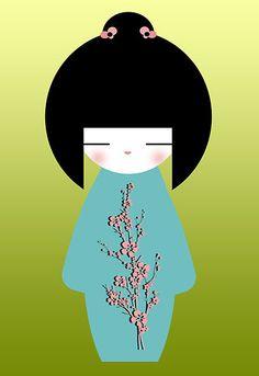 Kokeshi Art