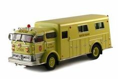 Signature 1/50 1960 Mack C Rescue Fire Truck Yellow Lynn Fire Dept . $13.99. 1/50 diecast from Signature, marked for the Lynn Fire Dept, aprox 6.5 inches long, 2 inches wide, 2.5 inches tall.