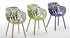 Laurel Feldman Forest Side Chairs...WANT!