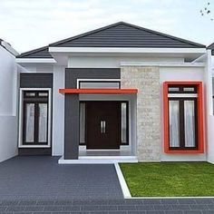 My House Plans, Yogyakarta, Ideas Para, Bungalow, Wallpaper, Outdoor Decor, Interior, Target, Design