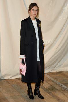 3/1 アレクサ・チャン(Alexa Chung)、「エイチアンドエム ストゥディオ」のファッションショーへ - H&M Studio Spring 2017 Fashion Show
