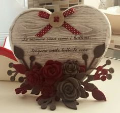 G Valentine Decorations, Valentine Crafts, Flower Decorations, Christmas Crafts, Valentines, Easy Diy Crafts, Diy Craft Projects, Handmade Crafts, Crafts To Make