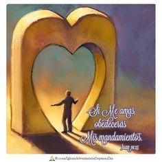 La ley moral hoy ||  En esto consiste el amor a Dios: en que obedezcamos sus mandamientos. Y éstos no son difíciles de cumplir. 1 Juan 5:3  La obediencia a los mandamientos de Dios es una expresión de nuestro amor a quién nos amó MUCHO!