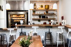 Tucked in a cozy space in San Francisco's Hayes Valley is a bustling Greek restaurant that puts a refreshing spin on traditional Greek cuisine while serving nearly a thousand orders per day.