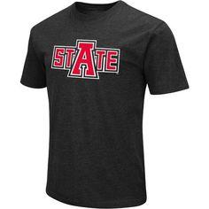 best service b151c 28f4e Colosseum Athletics Men s Arkansas State University Logo Short Sleeve  T-shirt (Black, Size XX Large) - NCAA Licensed Product, NCAA Men s Tops at  Ac..