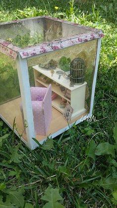 "DIY miniature roombox 1/12 ""The Secret"""