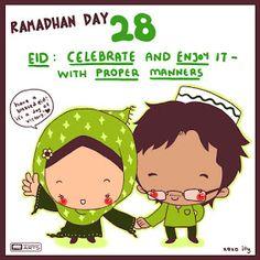 A Muslimah's Musing's: Fun (30 day) Ramadan Calendar