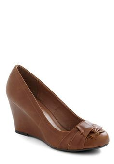 Have a Caramel Wedge, #ModCloth $49.99
