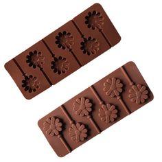 Sunflower Chocolate Pop Lollipop Mold Cake Cookie Baking Tray Silicone Fondant Cake Decoration Mold