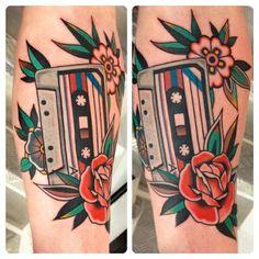 For the love of cassette tape http://www.steftattooer.com/English/tattoos.html