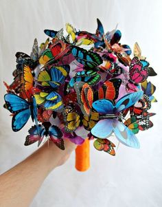 Wedding Butterfly bouquet Engagement ideas. #wedding #cocomelody