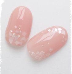 春上品シェル埋め込み桜ネイル♪ジェルネイルチップ☆お手数ですが、ご購入前に必ずプロフィールをお読みくださいm(__)m