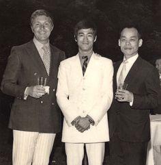 with jhoon rhee Bruce Lee Abs, Artiste Martial, Bruce Lee Training, Bruce Lee Family, Bruce Lee Martial Arts, Bruce Lee Quotes, Jeet Kune Do, Ip Man, Brandon Lee