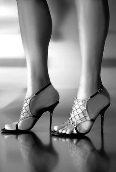 Oooh, mooie schoenen.