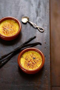Crème brûlée à la vanille et 3 astuces pour la réussir ©Edda Onorato