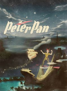 Neverland.                                                   Peter Pan. Disney