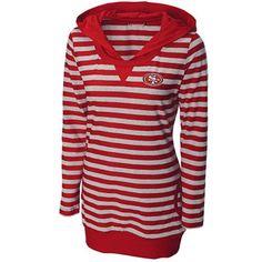 85942e817 Cutter  amp  Buck San Francisco 49ers Women s Topspin Hoodie -  Scarlet fanatics Chiefs Football