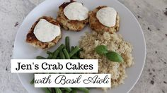 Crab Cakes Recipe with Basil Aioli | How to Make Crab Cakes