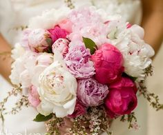 Shades of pink - I love a large bouquet