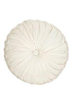 Round Velvet Pintuck PillowRound Velvet Pintuck Pillow