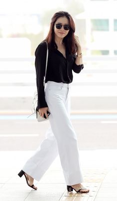 Classy Work Outfits, Best Casual Outfits, Summer Work Outfits, Kpop Outfits, Mode Outfits, Korean Outfits, Fashion Idol, Fashion Outfits, Womens Fashion