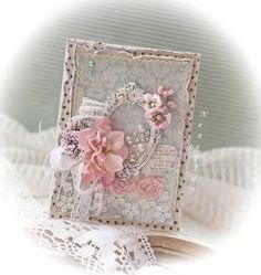 Image result for shabby chic cards handmade