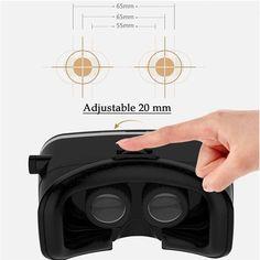 VR Shinecon Helmet Box Cardboard for Smartphone Mobile Phone Movie Game Cinema Virtual Reality Glasses VR Glass Vr Shinecon, 3d Glasses, Virtual Reality, Mobiles, Computers, Bluetooth, Helmet, Smartphone, Headphones