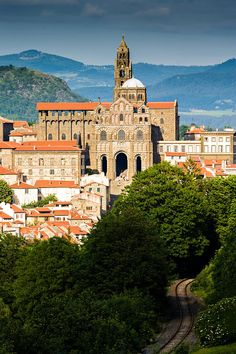 Cathedral of Notre-Dame Puy, Le Puy en Velay, France by arnaud frich