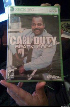 Carl on Duty: Black Cops