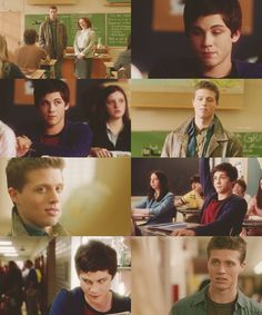 Tehe. Destiel high school au  I don't know how I feel about Logan playing Cas..