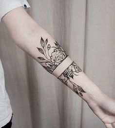Flower forearm tattoo - 110 Awesome Forearm Tattoos