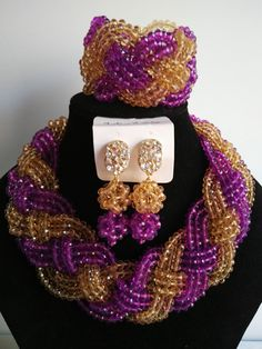 Find More Jewelry Sets Information about NEW purple nigerian wedding african beads jewelry set crystal beads bride jewelry GG 1070,High Quality jewelry anklet,China jewelry stopper Suppliers, Cheap jewelry bubbles from Chinese jewelry import and export co., LTD on Aliexpress.com