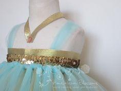 Princess Jasmine Tutu Dress Costume Baby Girls by AmericanBlossoms