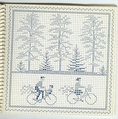 Gallery.ru / Photo # 1 - 874 - Yra3raza bicyclettes bicycles cross stitch point de croix