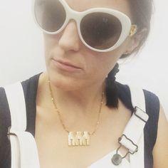 Ideal Woman Necklace Evolution of the Bikini Line // Comedian Jen Kirkman