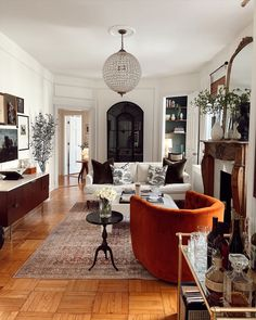 My Living Room, Living Room Interior, Home Interior Design, Home And Living, Living Room Decor, Living Spaces, Decoration Inspiration, Living Room Inspiration, Home Fashion