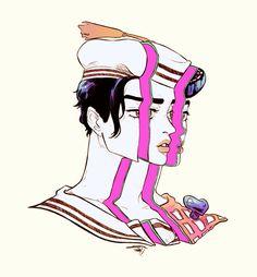 Bizarre Art, Jojo Bizarre, Jojo's Bizarre Adventure, Yoshikage Kira, Adventure Aesthetic, Joseph Joestar, Jojo Parts, Jojo Memes, Anime Manga