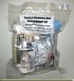 Tactical Response Gear - V.O.K. - Ventilated Operator Kit. I hope I never need to use this kit but If I do I'll have one.