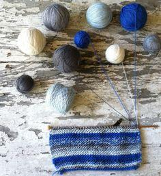 Knitting bliss.