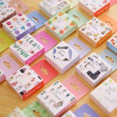 Giapponese Washi nastro Decorativo Nastro Adesivo Nastri Decorativi Scrapbook Paper Mascheramento Sticker Set Fotografico album Washi Tape Set
